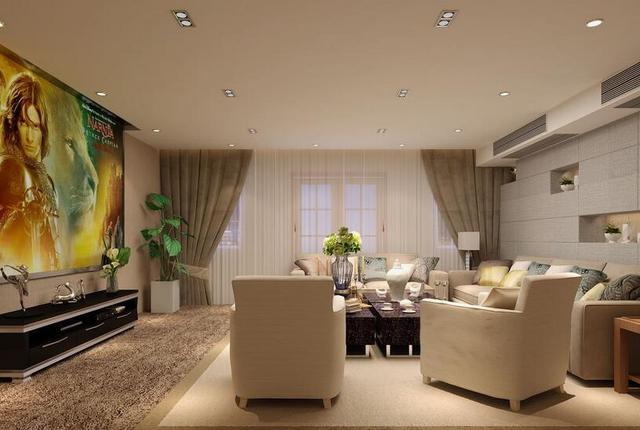 家庭頭影圖片,更大更護眼!為什么客廳組建家庭影院投影機更適合?