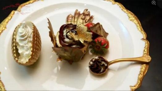 这些金子做的土豪级别的美食,你一定没吃过!插图2
