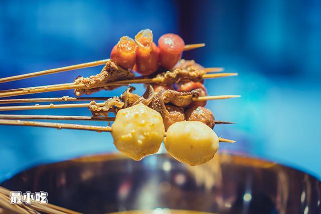 饿了吗?平顶山这家火辣的川味小吃,相对刺激你的味蕾,撸串走起插图5