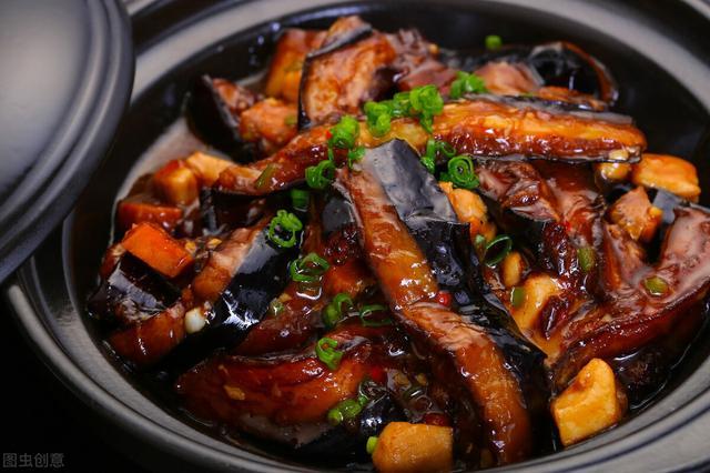 拉秧的茄子这样做味道香浓 时节美食味道错过了就没有了
