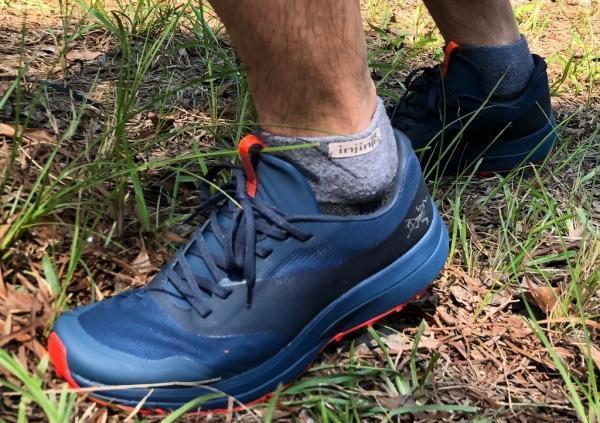 越野跑鞋我穿Arc'teryx始祖鳥,Norvan LD越野跑鞋實測