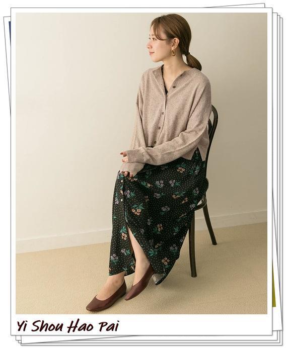 米色开衫的秋季搭配精选!24种你值得尝试的优雅穿搭-第20张