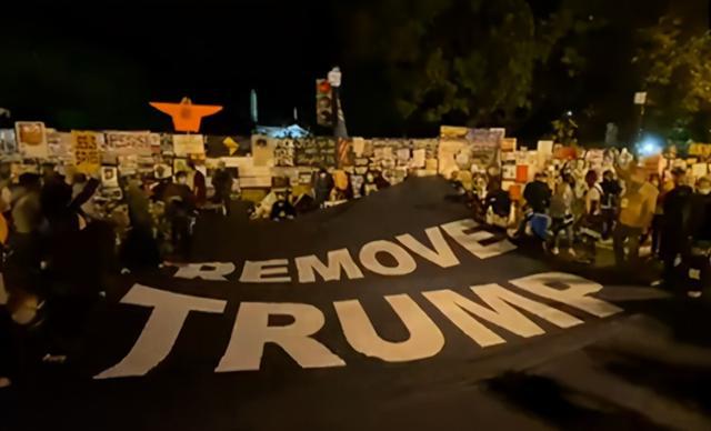 大选结果还没出,白宫门口已经发生示威游行,反对特朗普连任 全球新闻风头榜 第4张