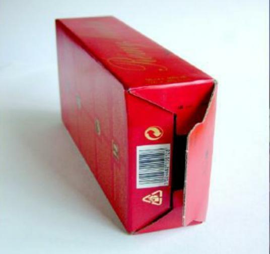 包装纸盒结构类型之——间壁结构,盒底结构和锁口结构(图6)