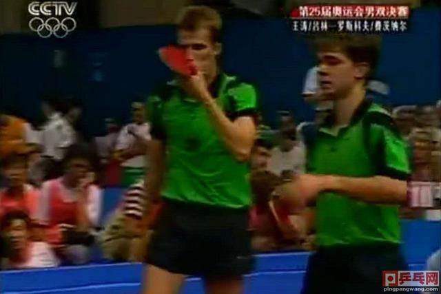 王涛吕林最牛一战,巴塞罗那奥运会击败世乒赛男双冠军,勇夺金牌-第4张