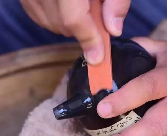记为明如镜打磨的磨工 紫陶特点-第10张
