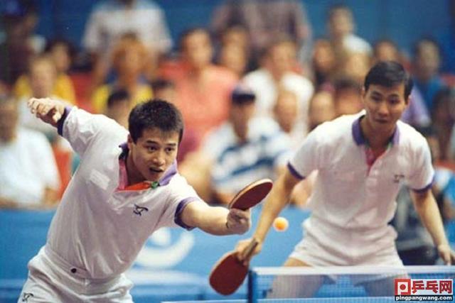 王涛吕林最牛一战,巴塞罗那奥运会击败世乒赛男双冠军,勇夺金牌-第1张