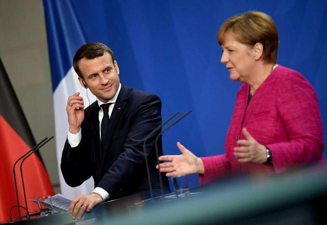 欧盟不再遮遮掩掩,对英亮出大动作,默克尔、马克龙作出重磅表态插图6