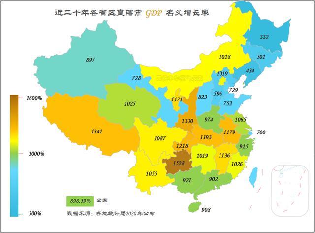 近年西北各省区发展速度谁最快