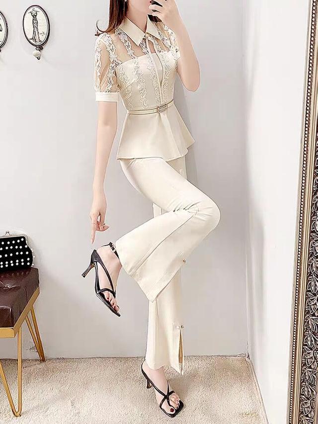 单一色彩的穿着,时尚且简约,穿着整洁利落非常的高级-第2张
