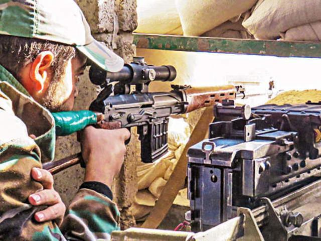 印媒:印度一军官在克什米尔实控线附近被对面狙击手射杀