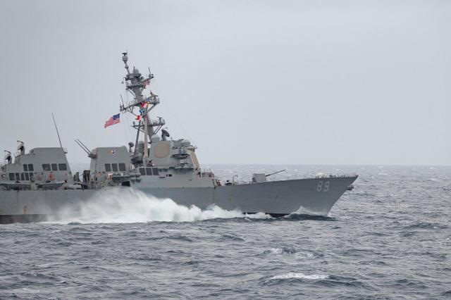 台媒:美军舰穿越台海,更接近大陆海岸线,遭解放军052D监视www.smxdc.net