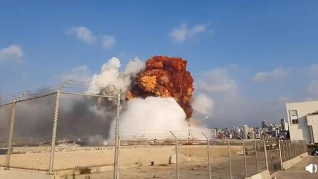 黎巴嫩不反对就爆炸展开国际调查,事故造成30万人无家可归