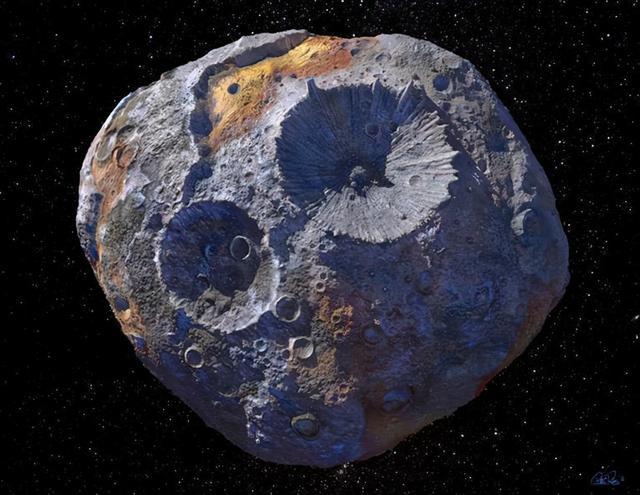 为世界经济总量1万倍!一颗小行星最新估价令人乍舌