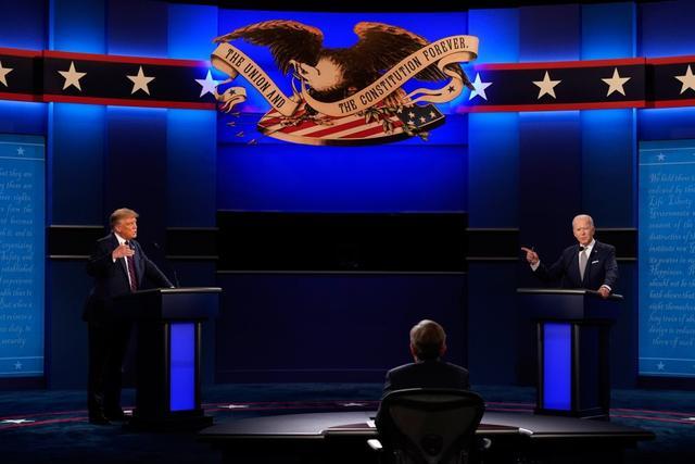 """美首场总统辩论特朗普总打断拜登,拜登忍不住说""""你能闭嘴吗""""【www.smxdc.net】 全球新闻风头榜 第2张"""