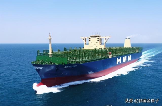 韩国船企去年订单总量,以4.3成份额力压中国,排名世界第一