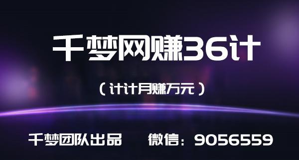 千梦网赚36计第3计全网VIP影视软件,日赚万元(付源码)