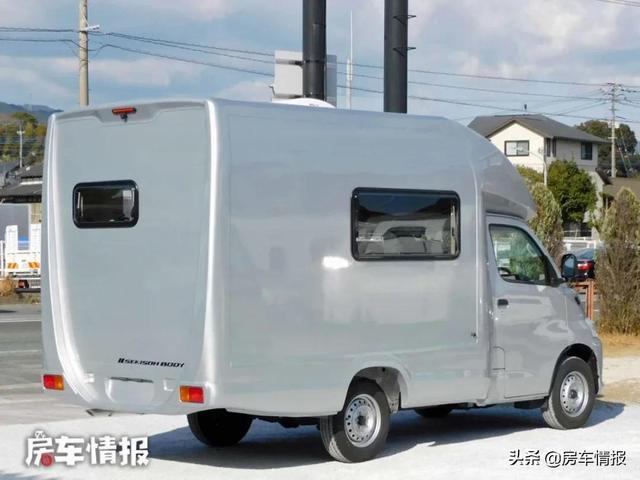 新款丰田房车来了,车长4.8米能住5人,30万出头还是自动挡