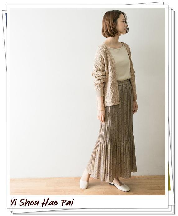 米色开衫的秋季搭配精选!24种你值得尝试的优雅穿搭-第13张