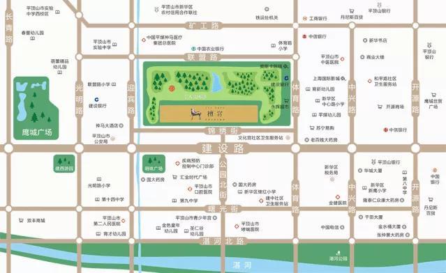 大浪淘沙 豫鉴好房!新华区的公园小区,你选哪一家?插图2