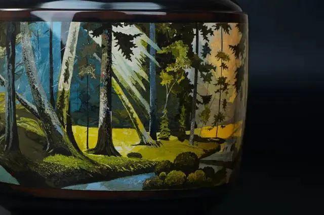 李瑞生的紫陶油画刻填 紫陶特点-第6张