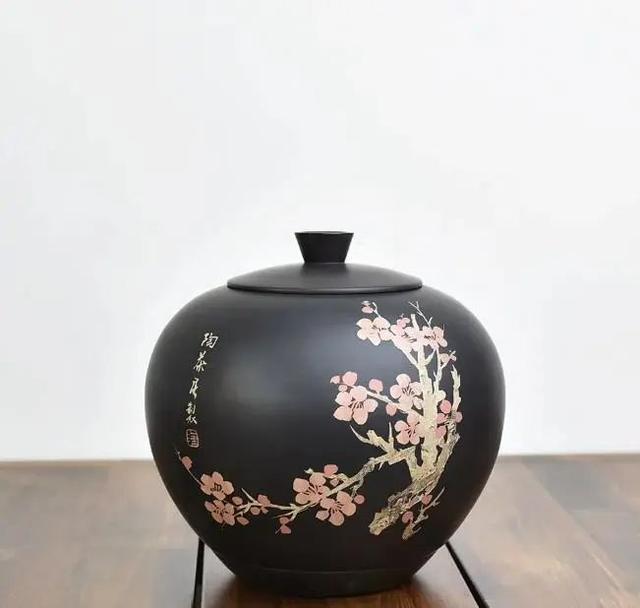「赏·器」苹果紫陶茶罐 紫陶特点-第3张