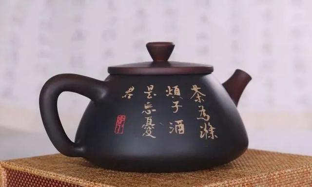 紫陶石瓢壶之美 紫陶特点-第5张