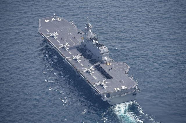 """美国给日本航母装""""钢牙"""",F35B开始部署,亚太局势又要动荡了-第3张"""