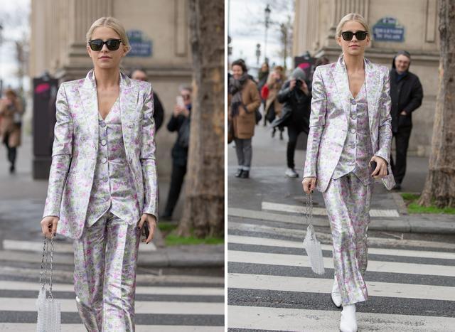 女性也可以帅气又潇洒,英伦三件套复古时尚,秋季这么穿太新潮-第5张