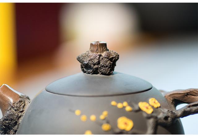 「枯木逢春」建水紫陶壶精品之作 紫陶介绍-第4张