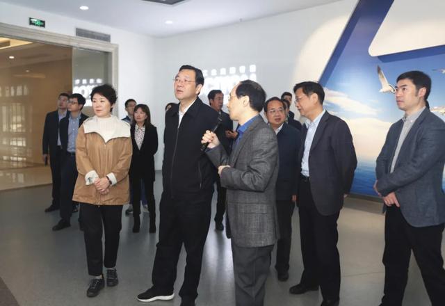 江苏省委常委、统战部部长杨岳一行调研智慧