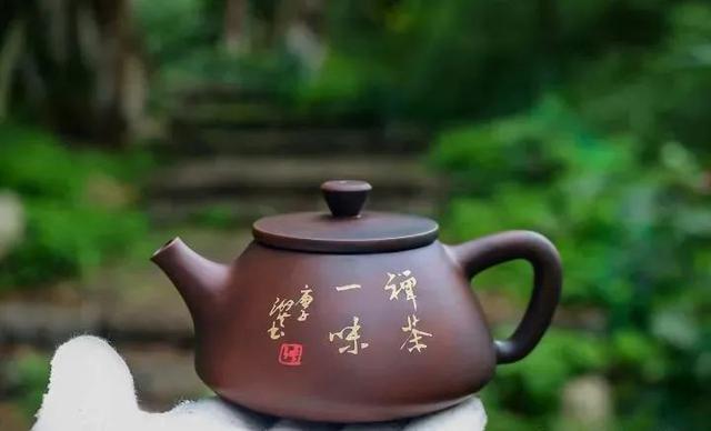 紫陶石瓢壶之美 紫陶特点-第1张