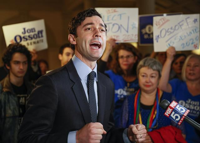 佐治亚参议员选举民主党2席全部胜出