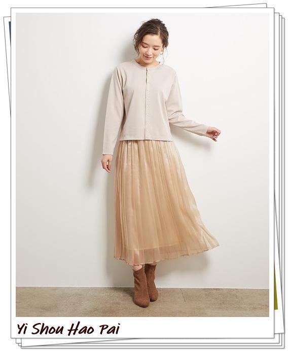 米色开衫的秋季搭配精选!24种你值得尝试的优雅穿搭-第18张