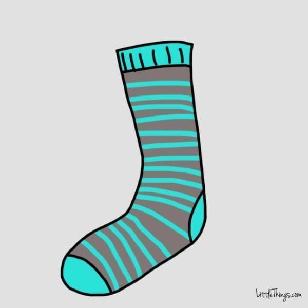「心理测试」选择一款你喜欢的袜子,了解你的性格特质-第4张