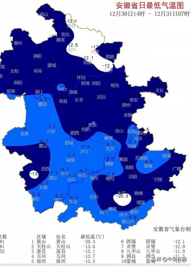 安徽寒潮预警已解除为何气温还更低?听听气象专家怎么说