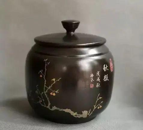 紫陶罐上的装饰——春夏秋冬 紫陶特点-第4张