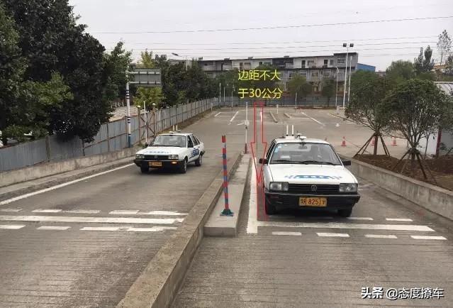 """考场实拍科目二""""坡道停车""""。让过来人给你说说经验。插图(2)"""