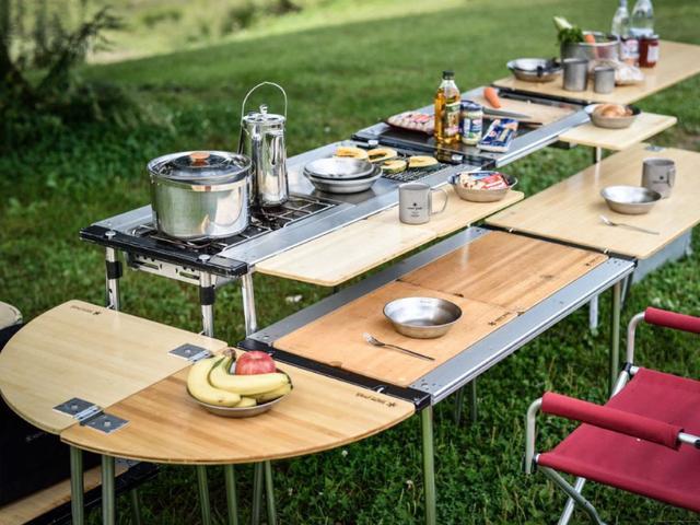 露營不能少了它,推薦幾款露營桌給大家認識