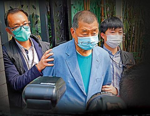 涉违反香港国安法 黎智英、周庭保释后将再赴警署www.smxdc.net