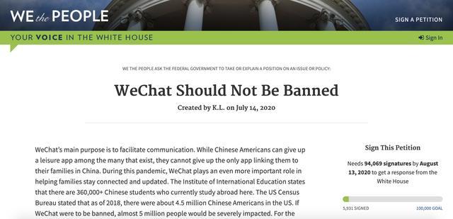 """""""微信群不该被禁!""""白宫请愿网站和Change.org已有上万人签字请愿-微信群群发布-iqzg.com"""