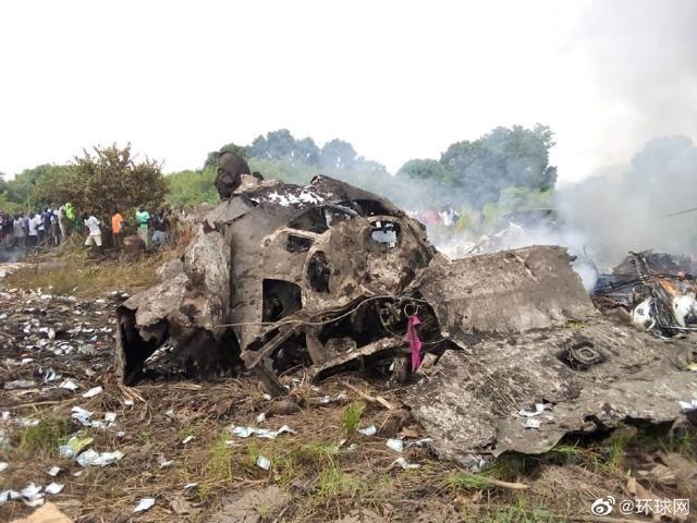 外媒:南苏丹一架飞机坠毁 事故已造成至少17人丧生www.smxdc.net