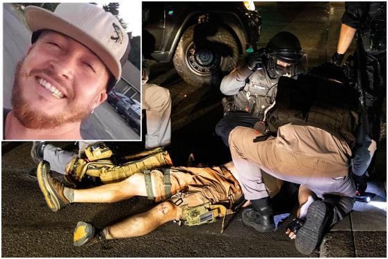 特朗普支持者与抗议者波特兰街头混战一男子中枪死亡,特朗普发推悼念:安息吧www.smxdc.net