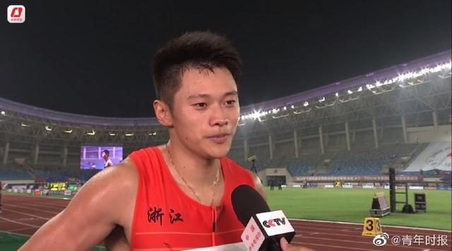 刚刚,浙江名将谢震业轻松夺得全国锦标赛百米冠军-第1张