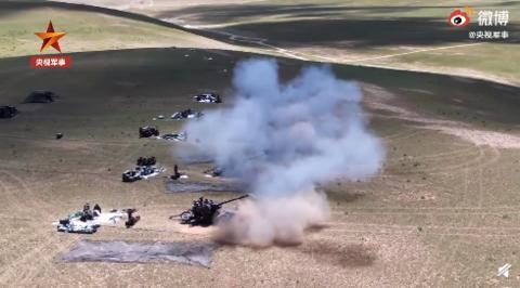 西藏军区演习精准摧毁无人机蜂群-第2张