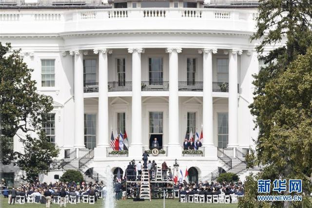 以色列与阿联酋和巴林在白宫签署关系正常化协议-第1张