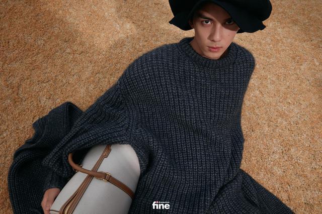 吴磊身着蓝色衬衫 造型清爽少年感十足-第8张