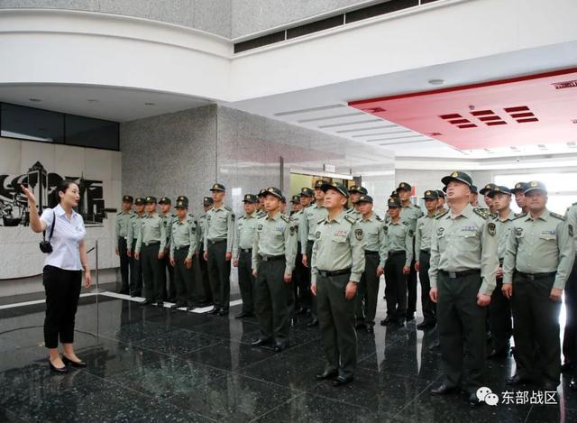 烈士纪念日,东部战区官兵这样致敬英雄-第9张