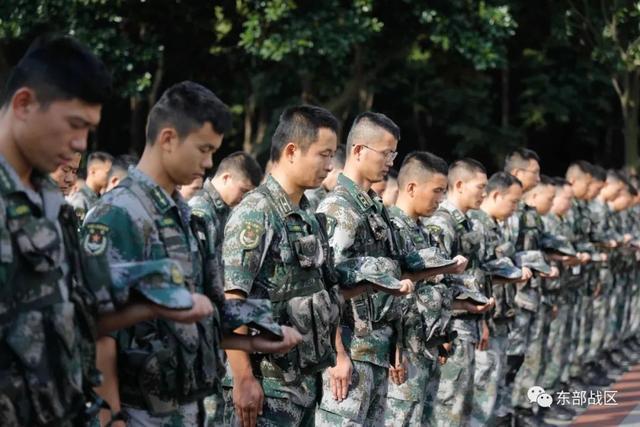 烈士纪念日,东部战区官兵这样致敬英雄-第12张
