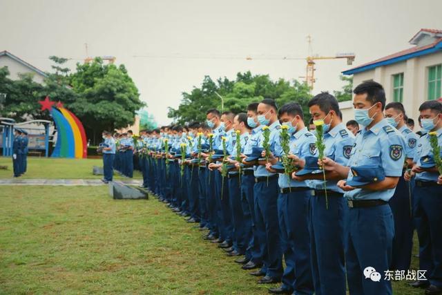 烈士纪念日,东部战区官兵这样致敬英雄-第21张